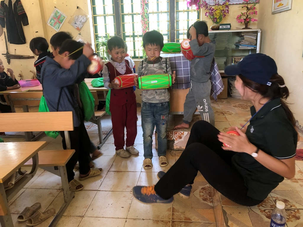 CSR Project in Sapa village, Vietnam